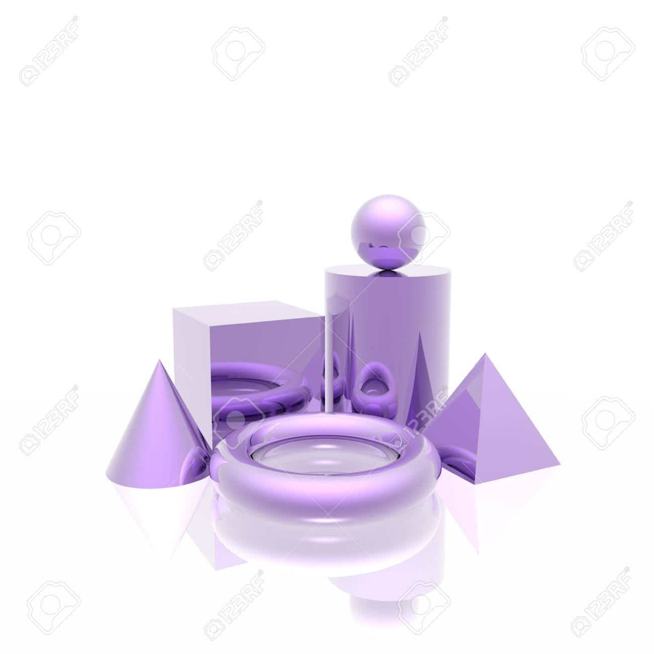 simple shapes Stock Photo - 4179956