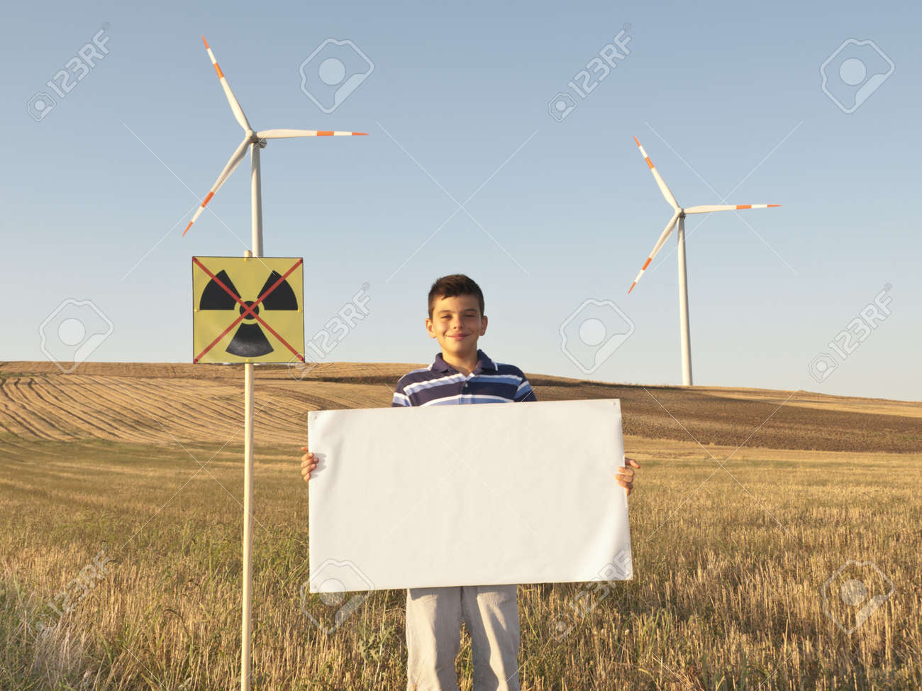 The young people want safe technologies for the future of the world. Stock Photo - 11137382