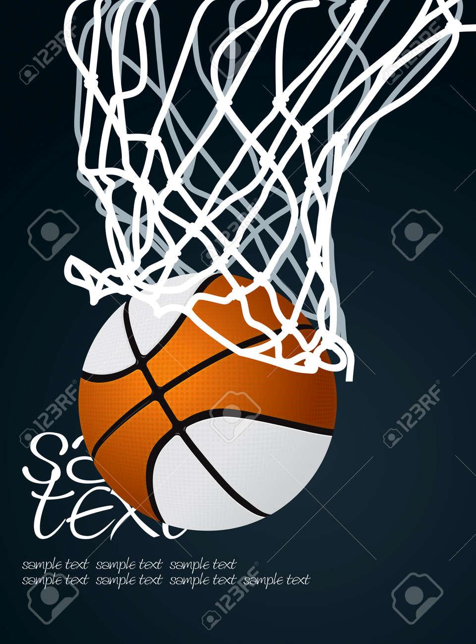 Basket 3 Vector Drawing Stock Vector - 8558119