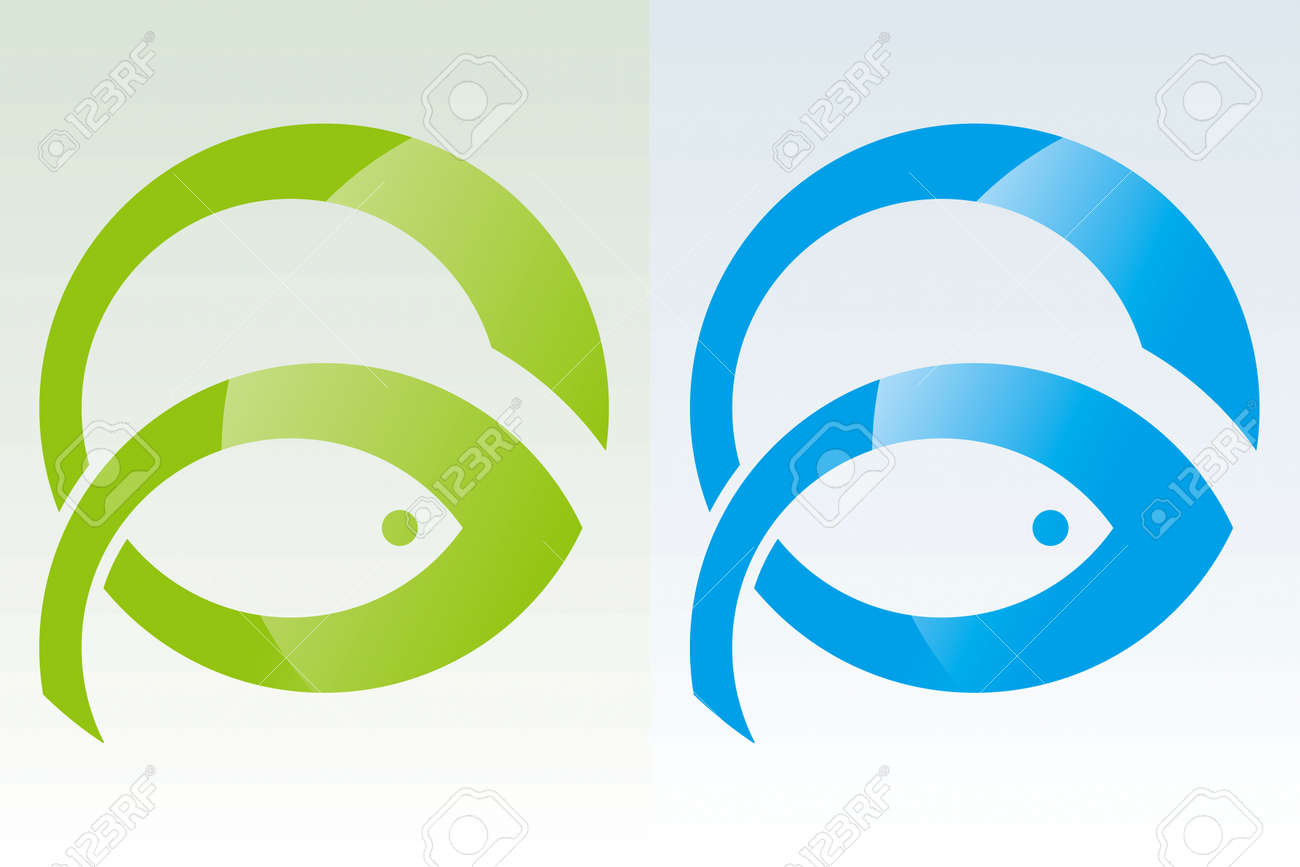 Fish Power Drawing Stock Vector - 8643690
