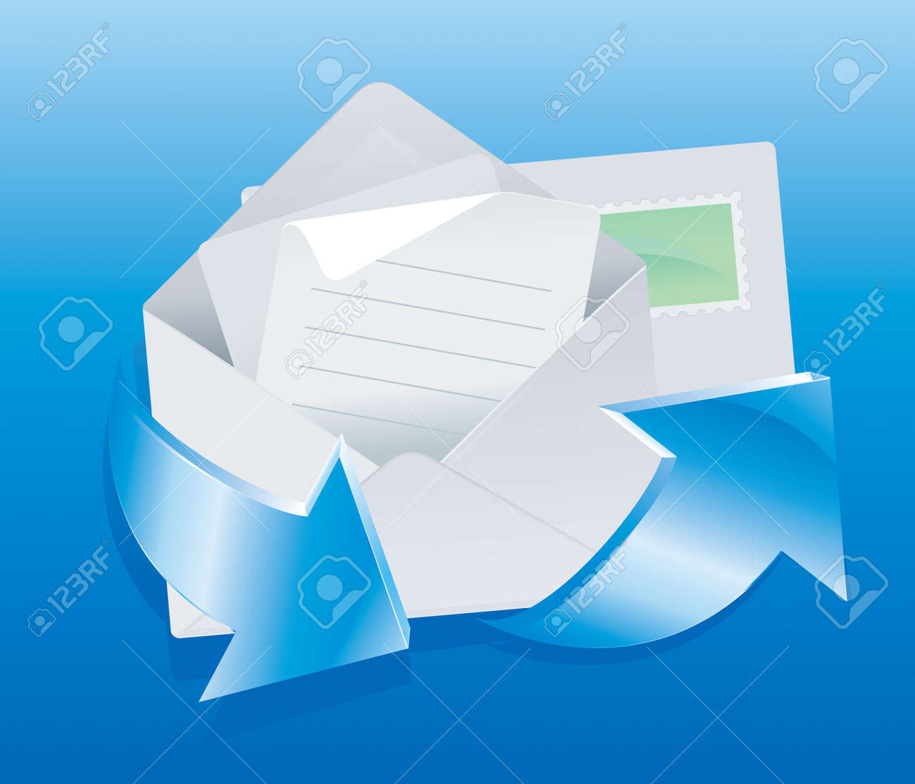 Mail Set Stock Vector - 8643770