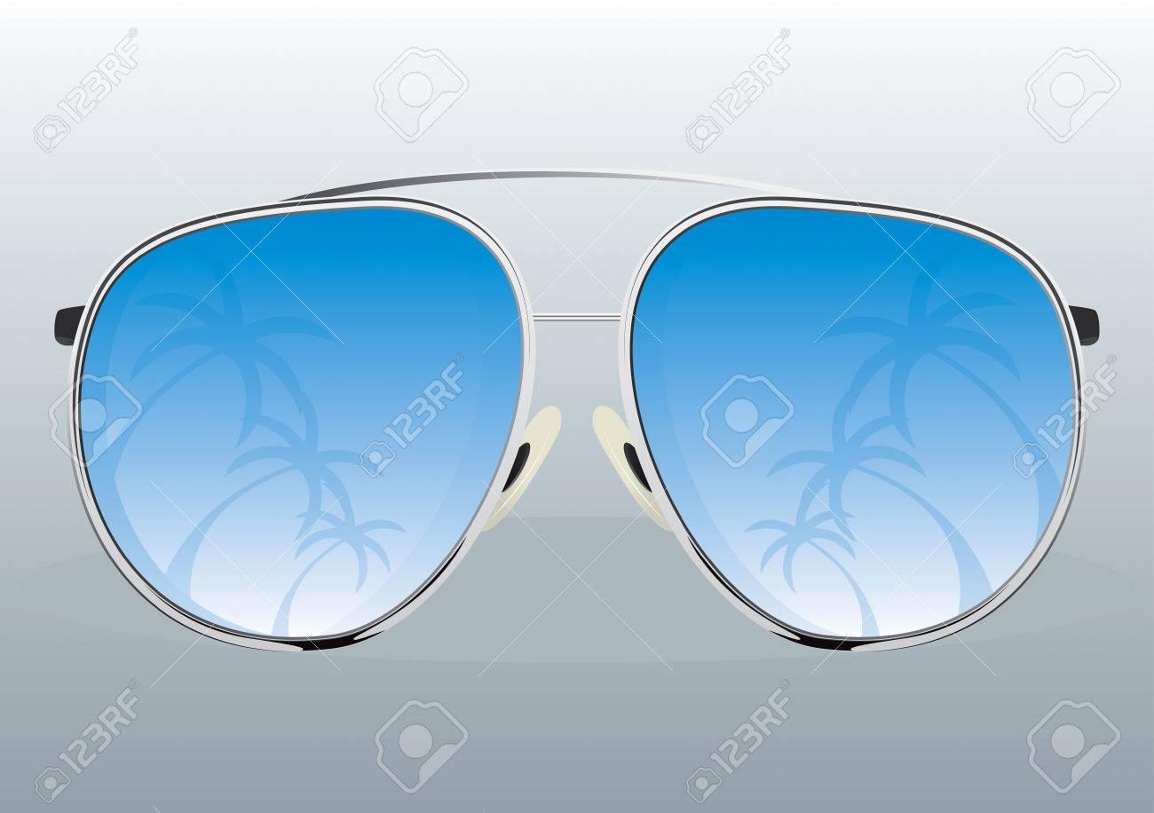 Sunglasses  Drawing Stock Vector - 8643813
