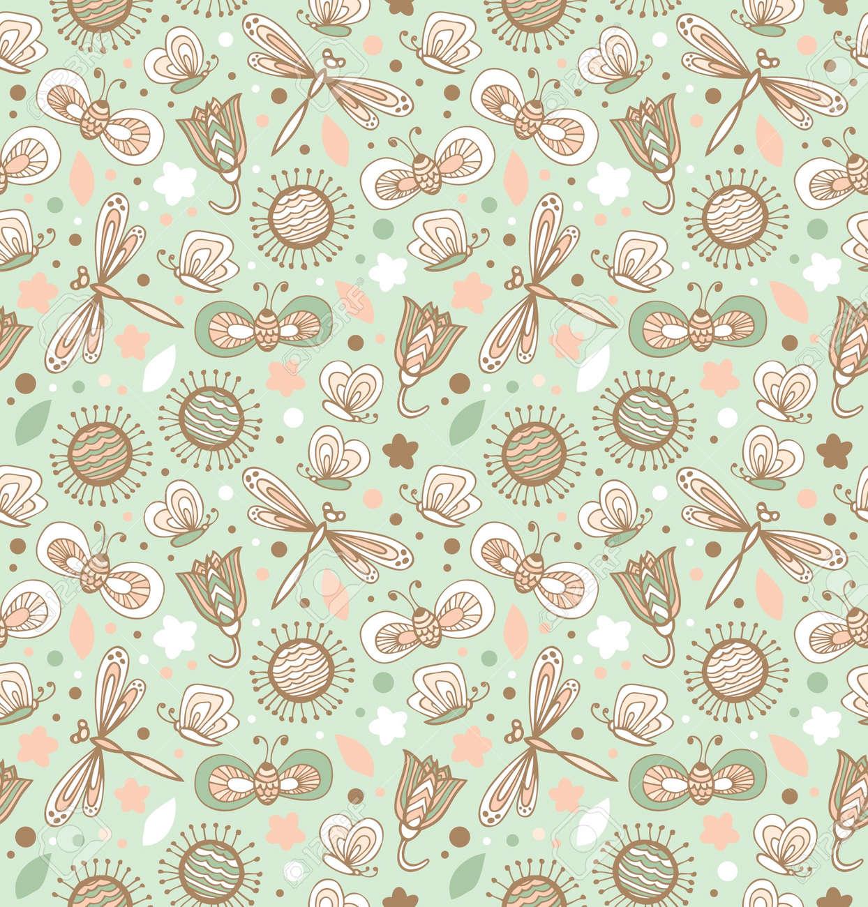 Clipart tessuti floreali