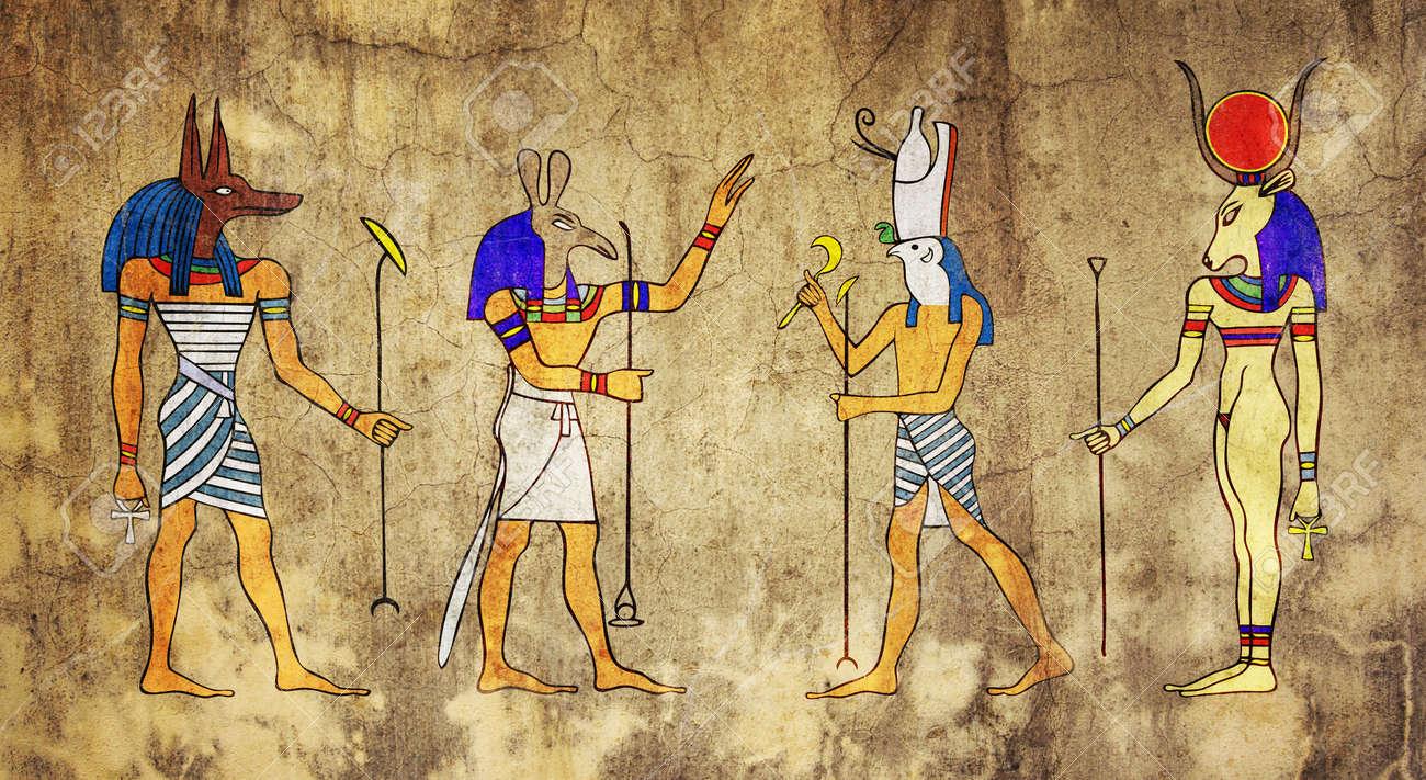 Egyptian Gods and Goddess - 6984445
