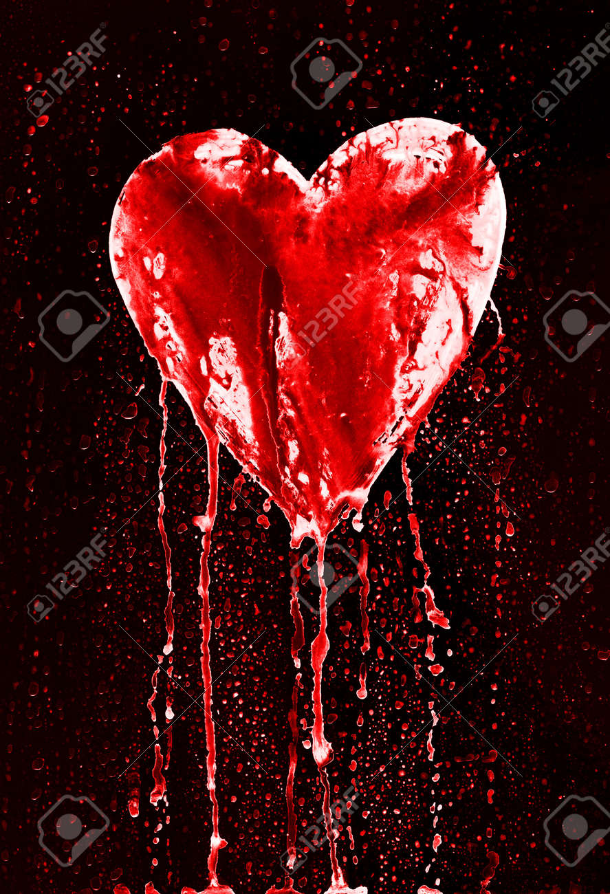 Bleeding Heart Symbol Of Love Stock Photo Picture And Royalty