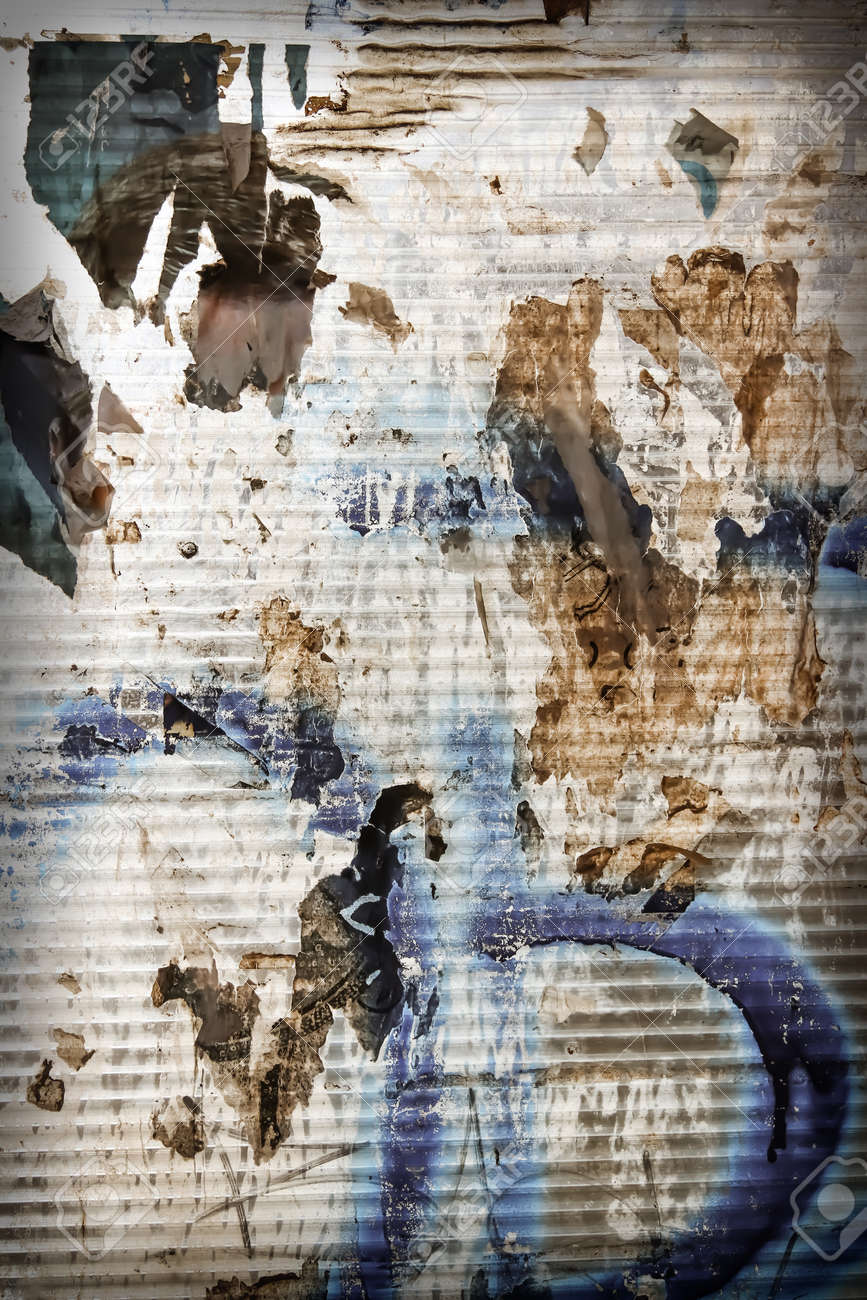 Chaotic urban industrial background - grunge extravagant background - 157633720