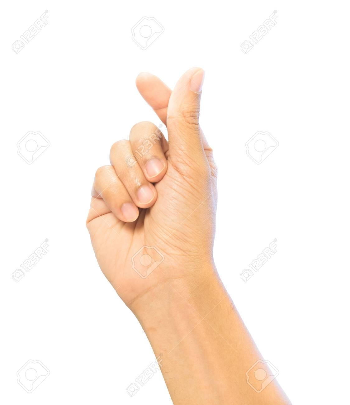 Mini heart finger hand sign gesture love symbol trend posture mini heart finger hand sign gesture love symbol trend posture isolation with clipping biocorpaavc Gallery