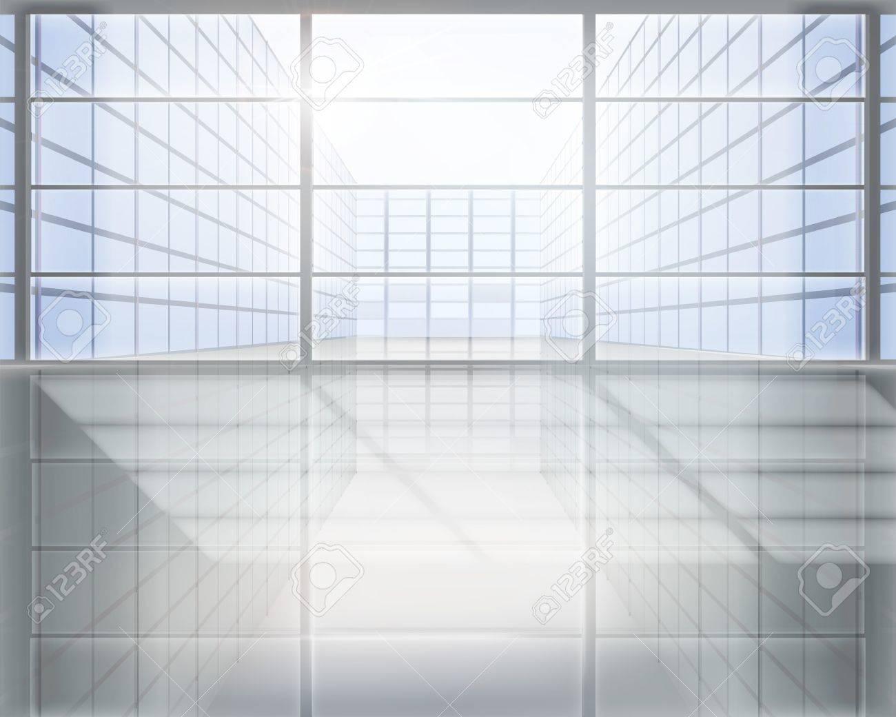 Business center. illustration. Stock Vector - 14403506