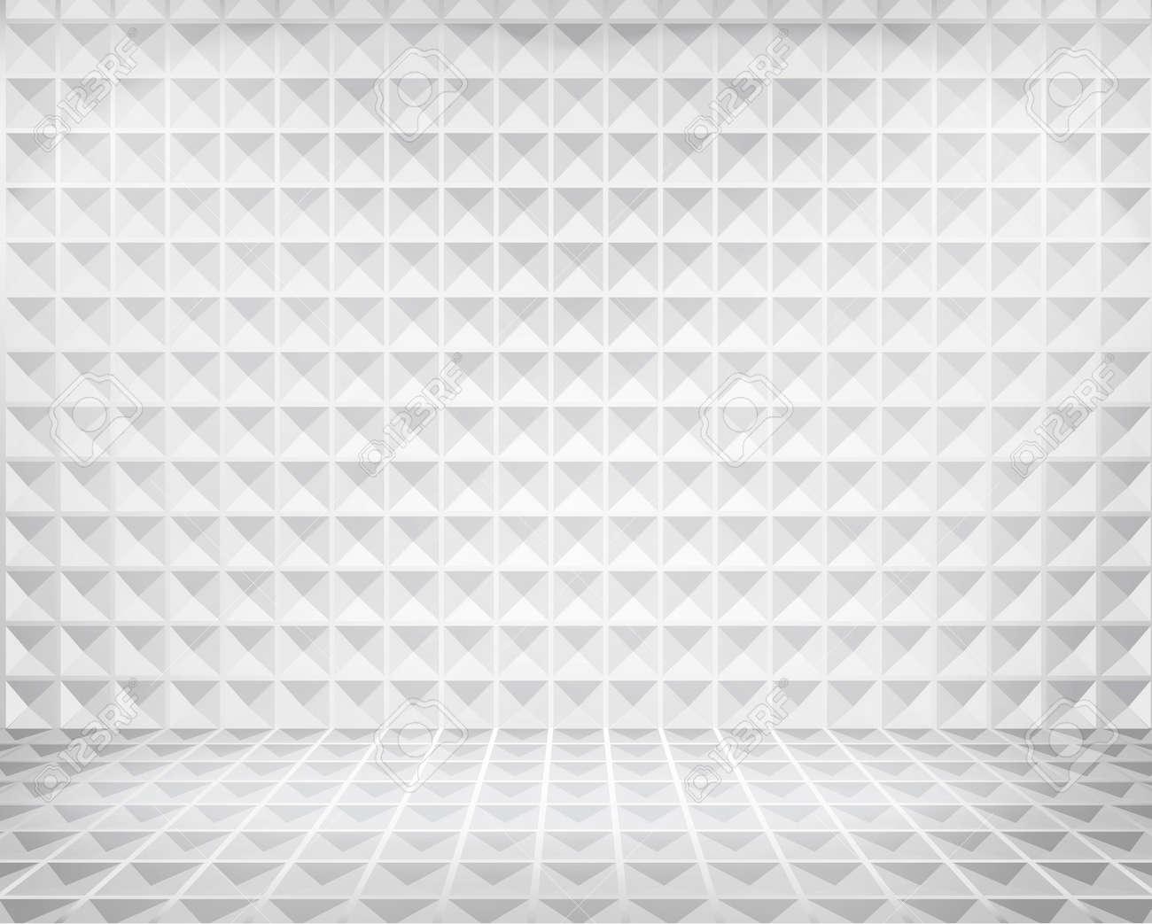 Illuminated space in shop window  illustration Stock Vector - 22842728
