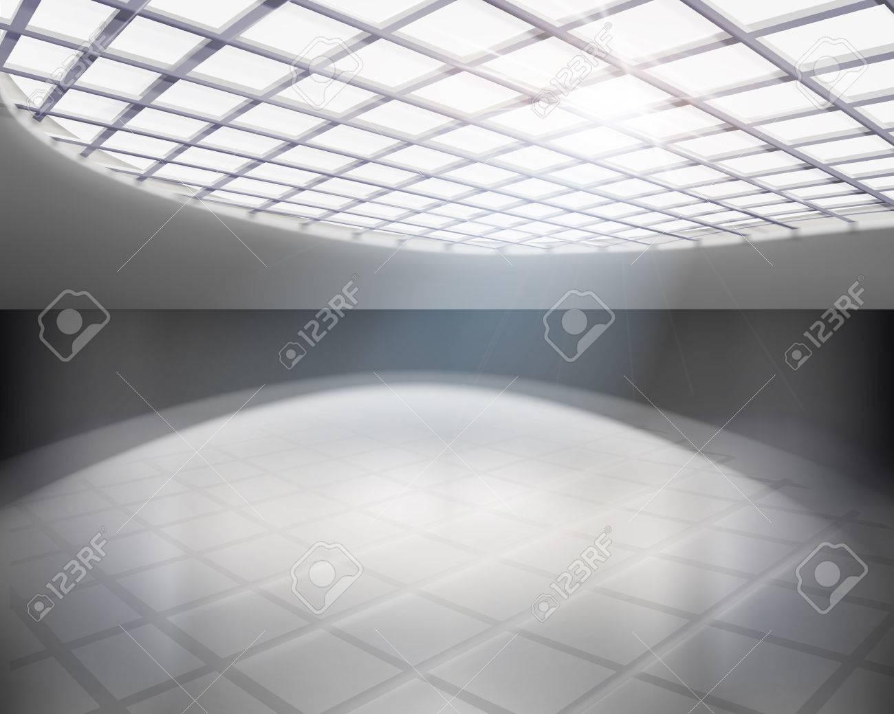 Empty hall  Vector illustration Stock Vector - 24193926