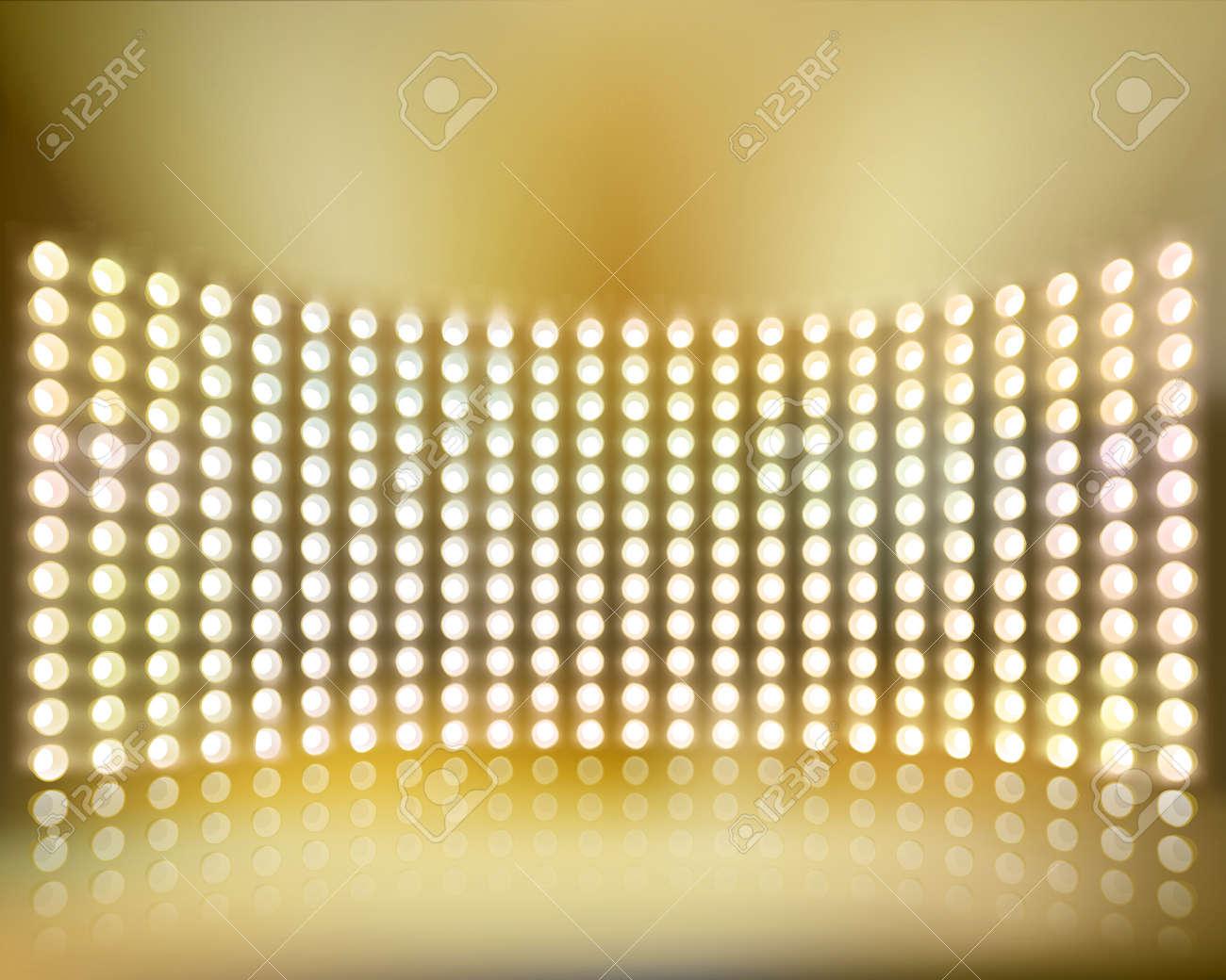 Light show. Vector illustration. - 37399677