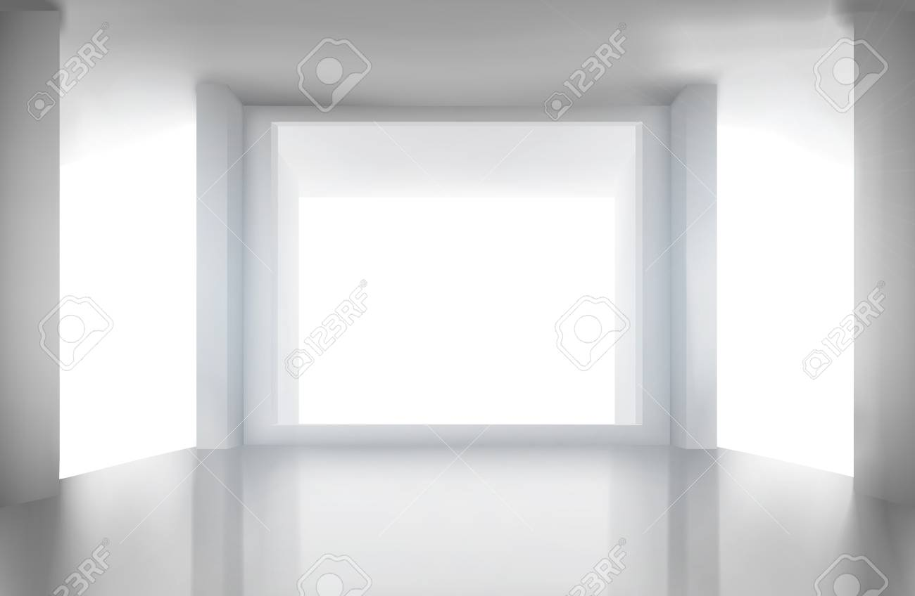 Room with large window. - 60008001