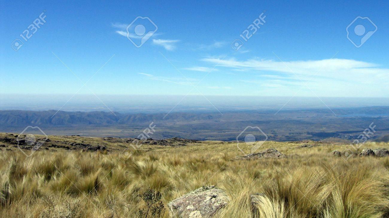 View of El Condor, Cordoba, Argentina Stock Photo - 14253323