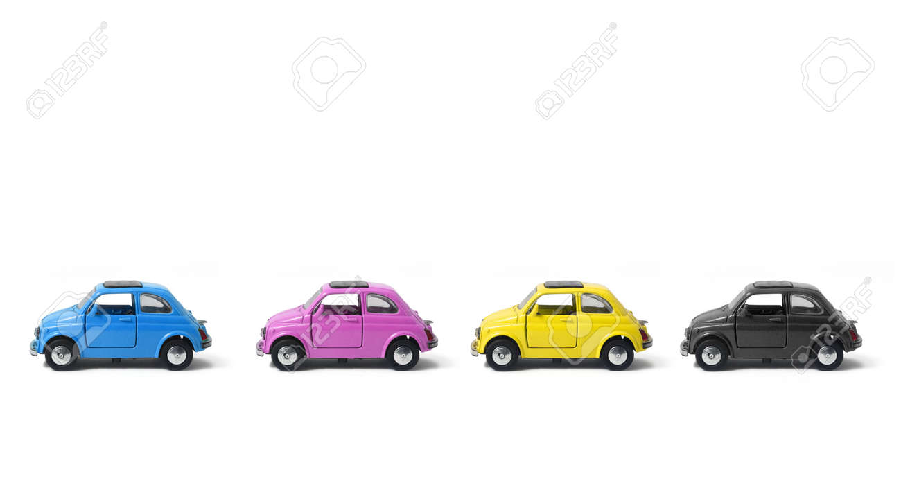 a little model of an old italian car Stock Photo - 636903