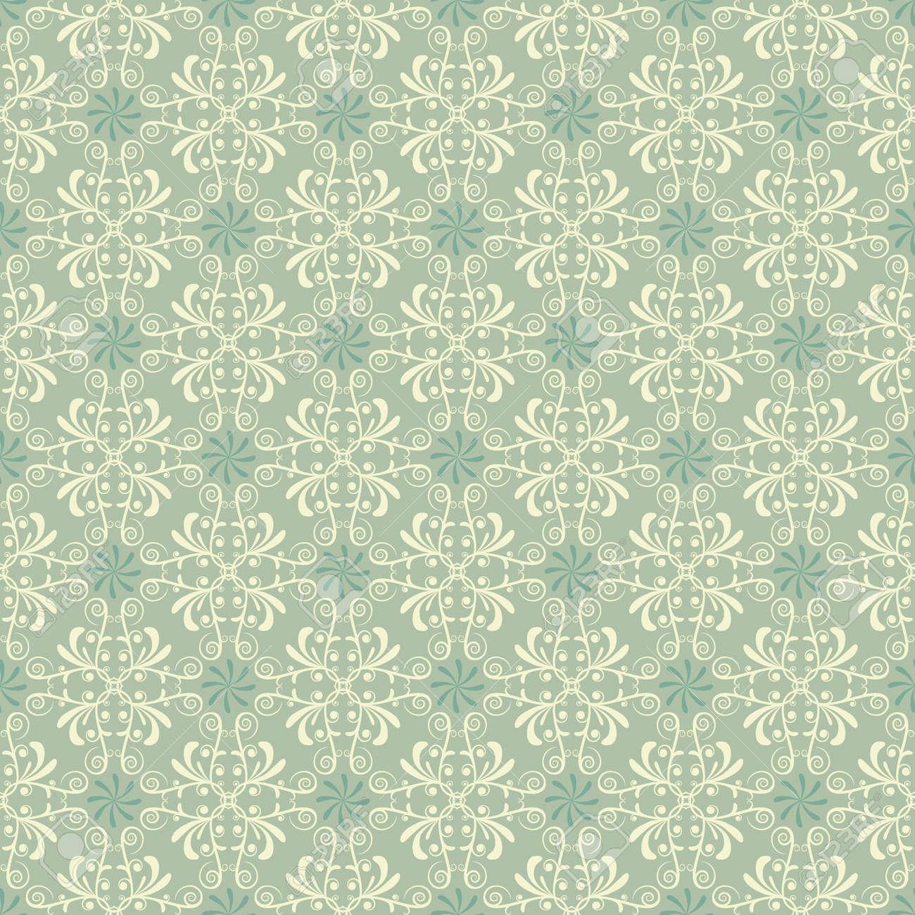 muster tapeten in zarten grnen standard bild 16590721 - Muster Tapeten