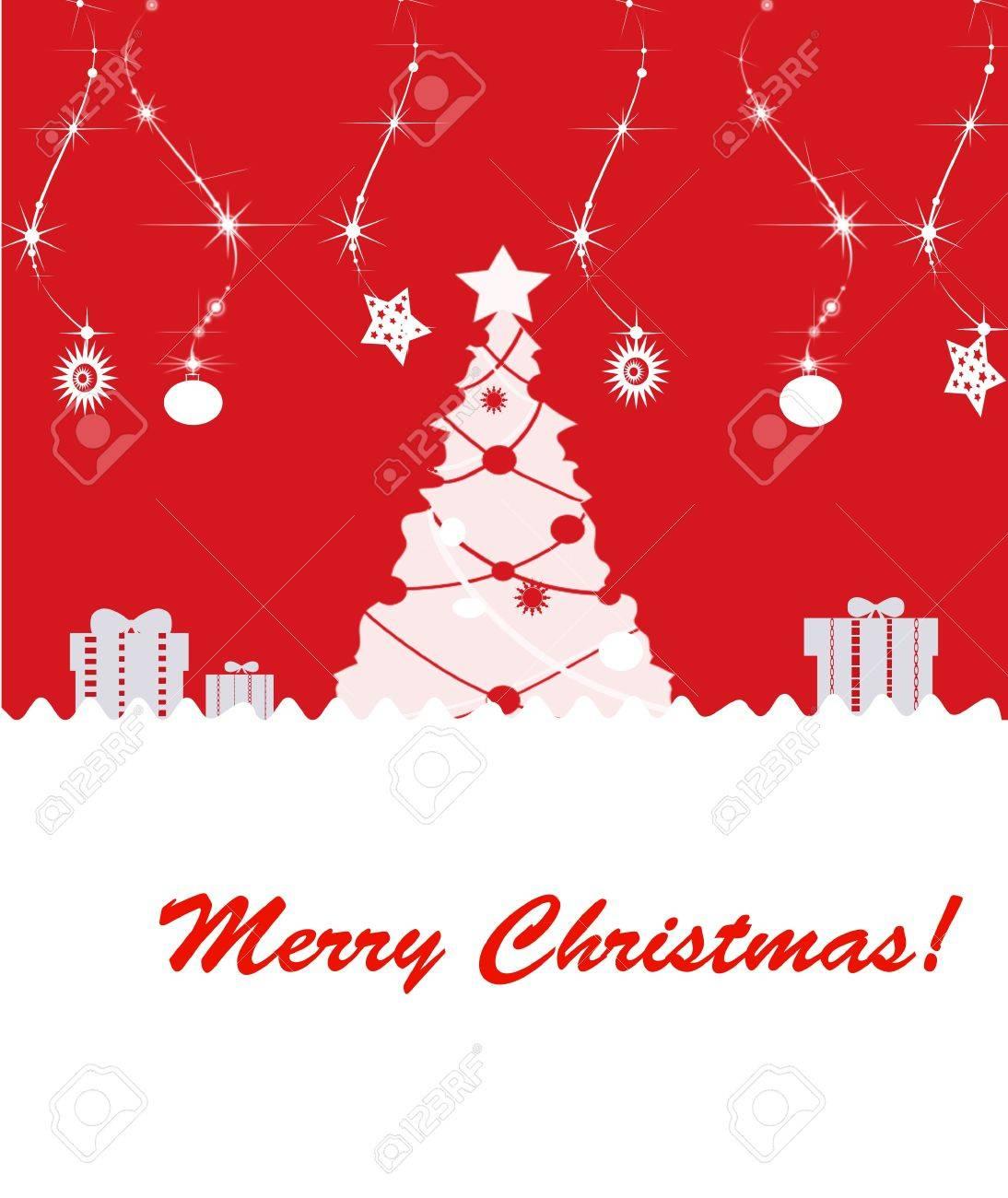 Beautiful background Christmas (New Year) card . Stock Photo - 11177643