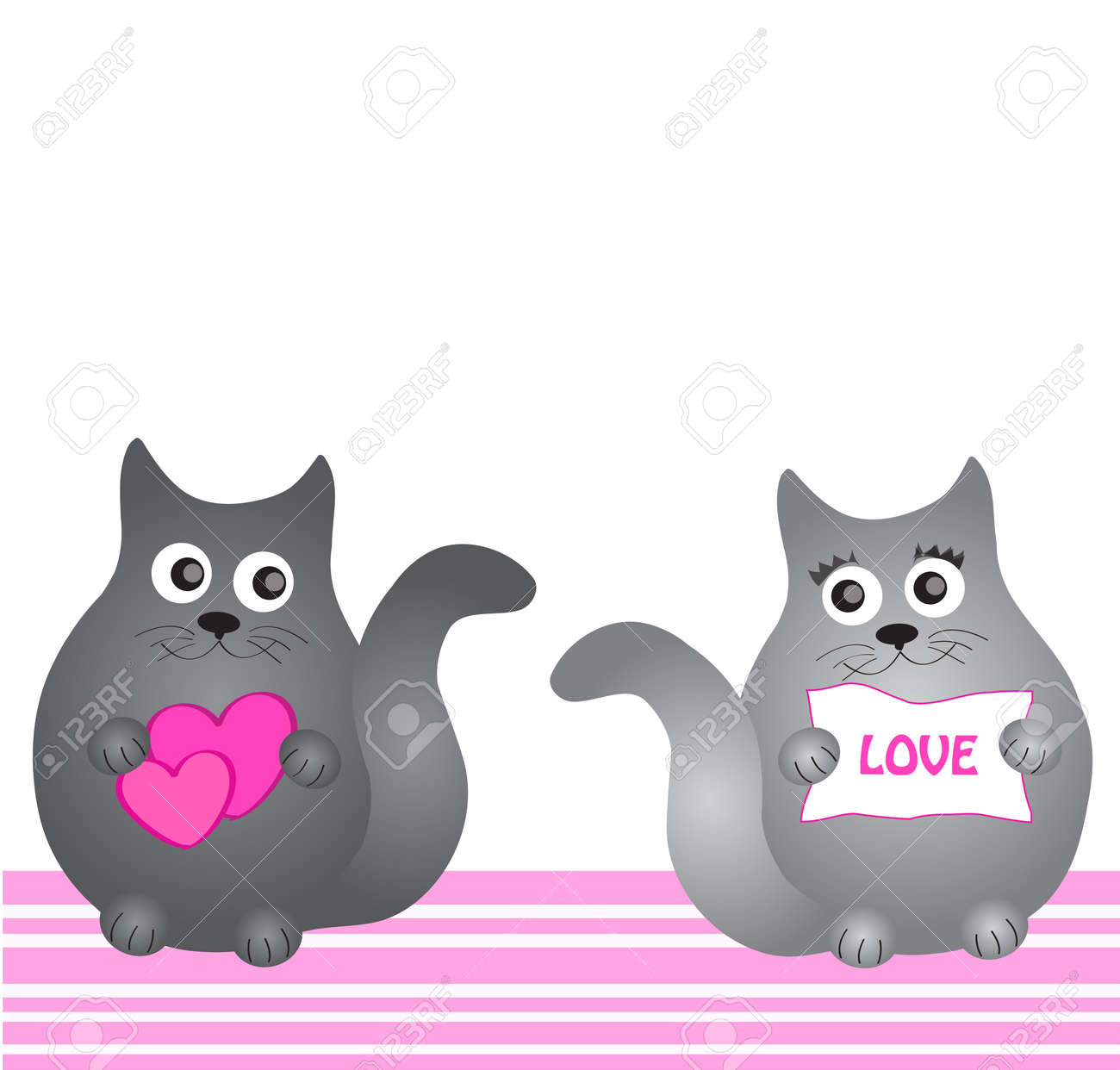 dreaming cat Stock Vector - 14394119