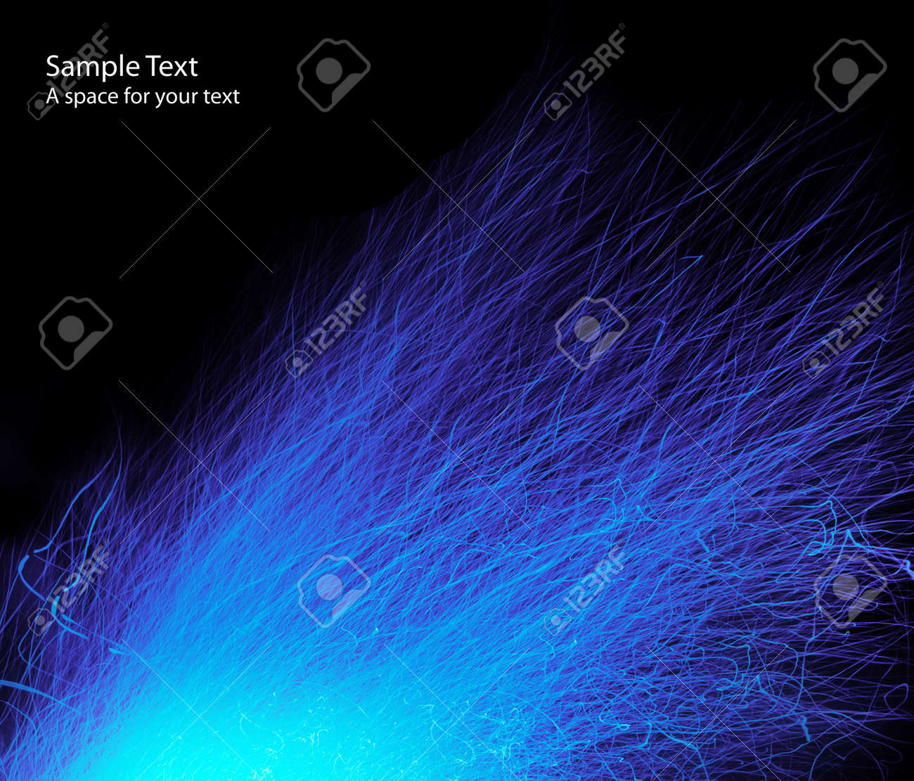 abstract dark blue background Stock Photo - 7860071