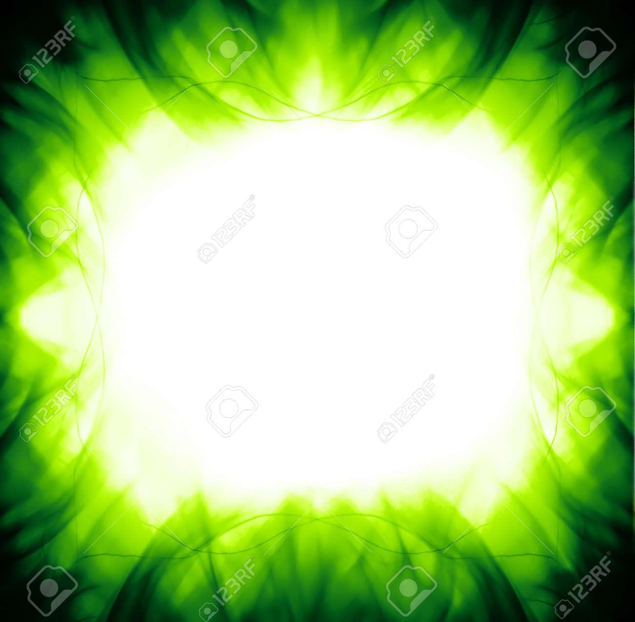 green frame Stock Photo - 7859971