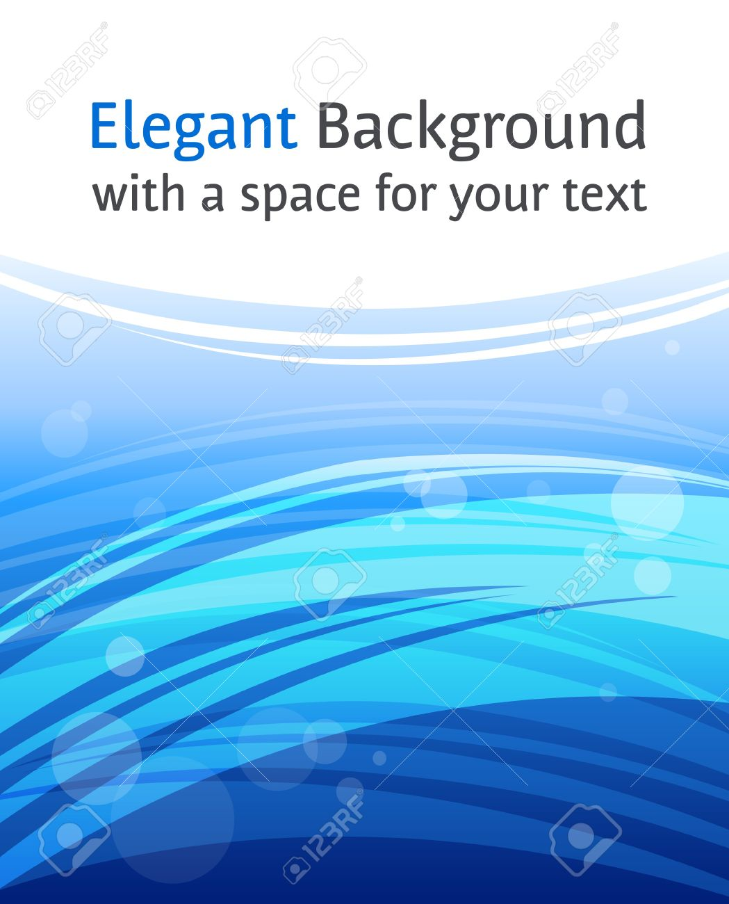 Abstract business blue background in letter format - for print and web - presentation, brochure cover, letterhead, banner, website background Stock Photo - 7860019