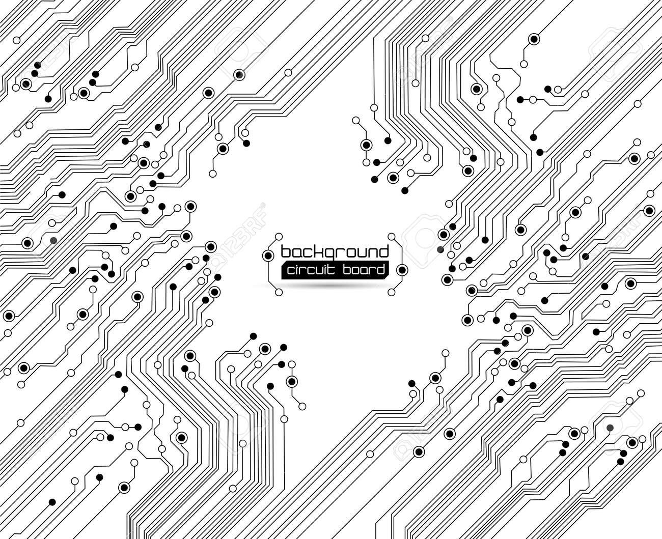 circuit board background texture Stock Vector - 10375246