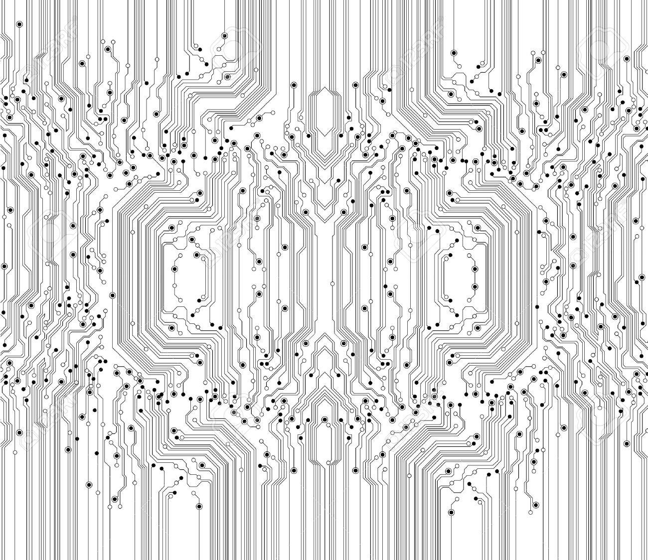 Circuit Board Texture Background Royalty Free Cliparts, Vectors, And ...