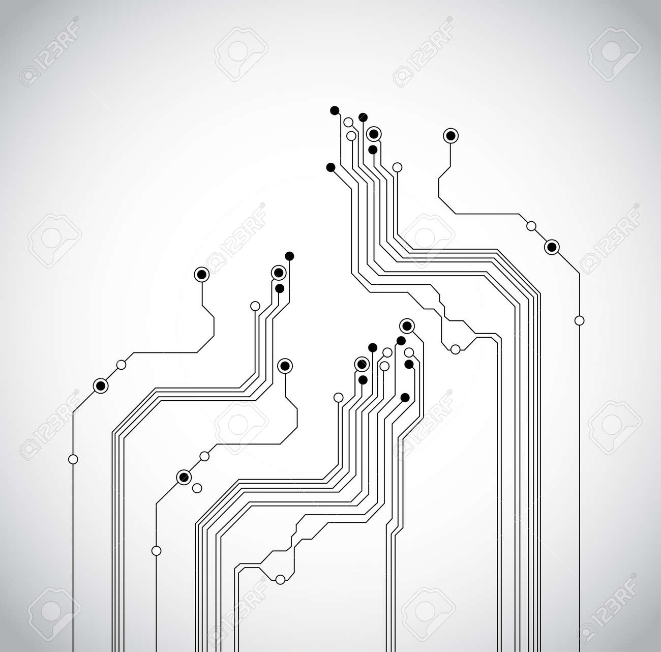 Abstract Circuit Board Background Texture Stock Photo Picture And 44590807