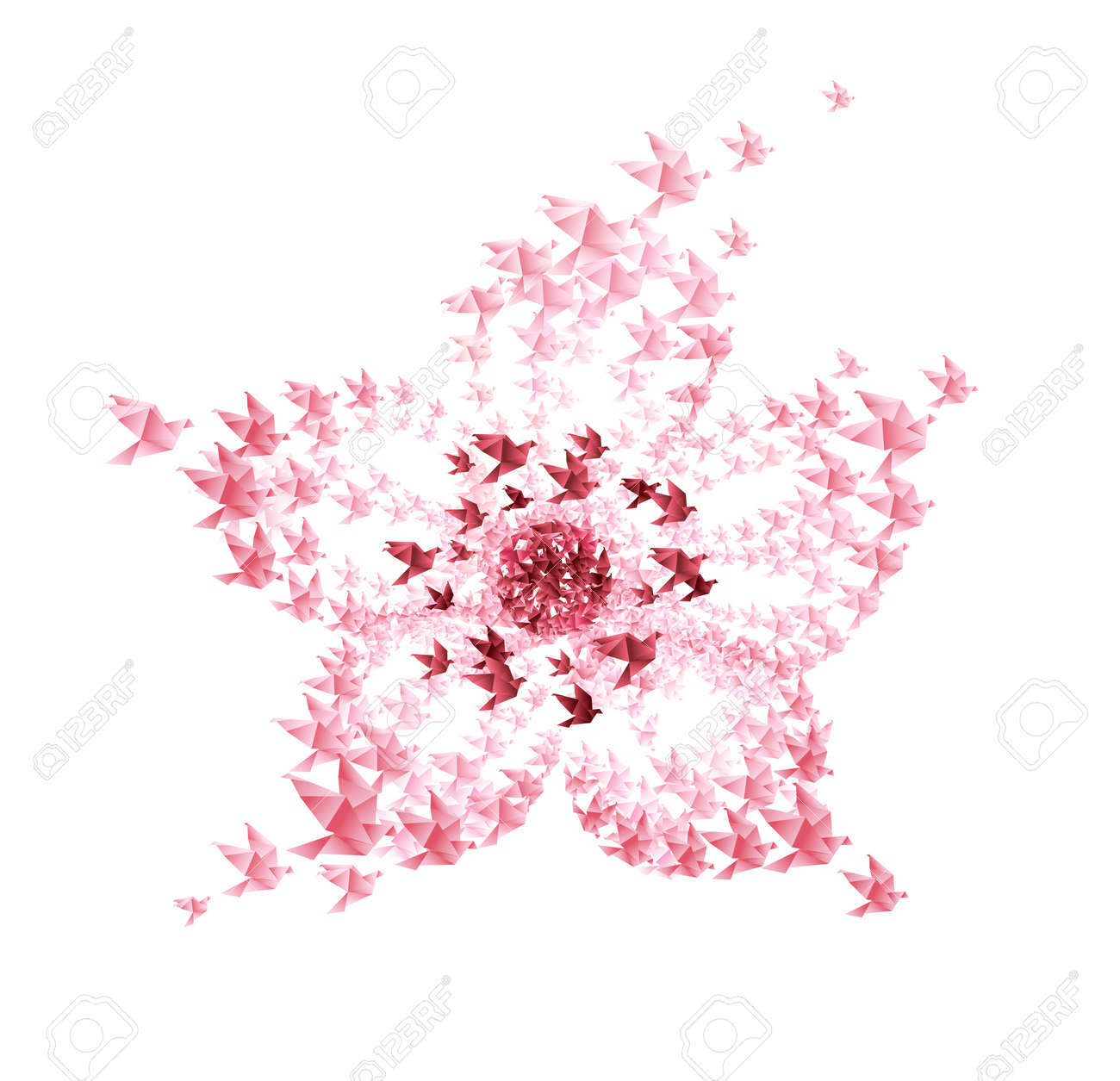 Origami Cherry Blossom   Origami blume, Kreativ, Bastelideen   1255x1300