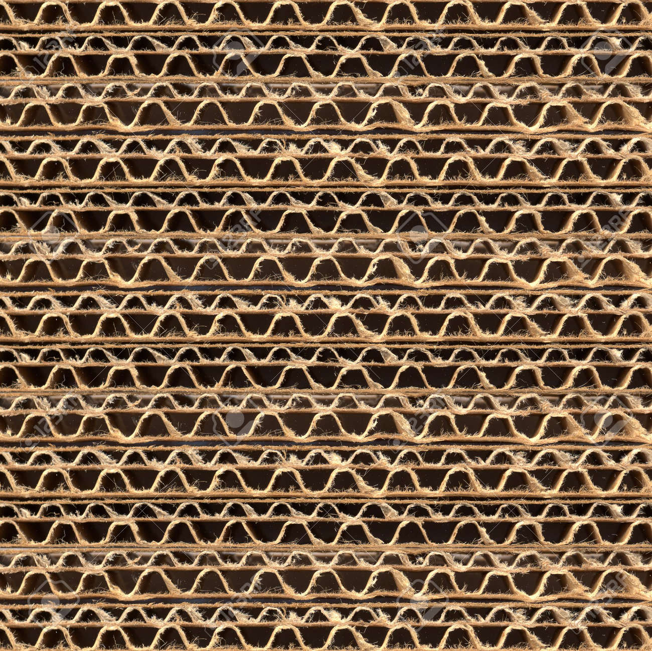 Brown corrugated cardboard sheet useful as a background Stock Photo - 5386935