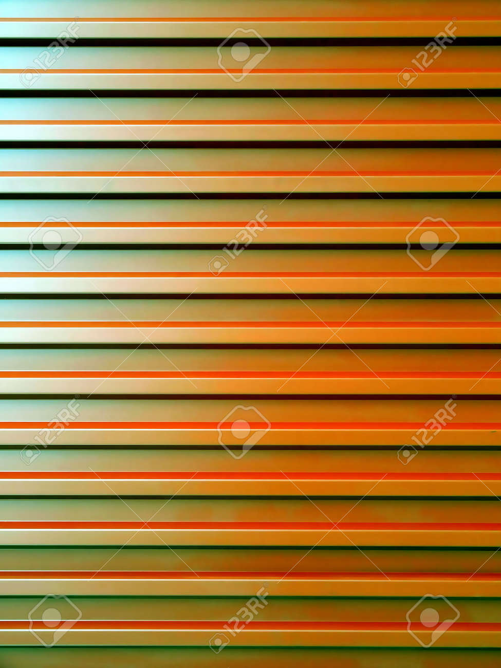 Corrugated steel sheet useful as a background -shining metal surface with light reflections Stock Photo - 5398436