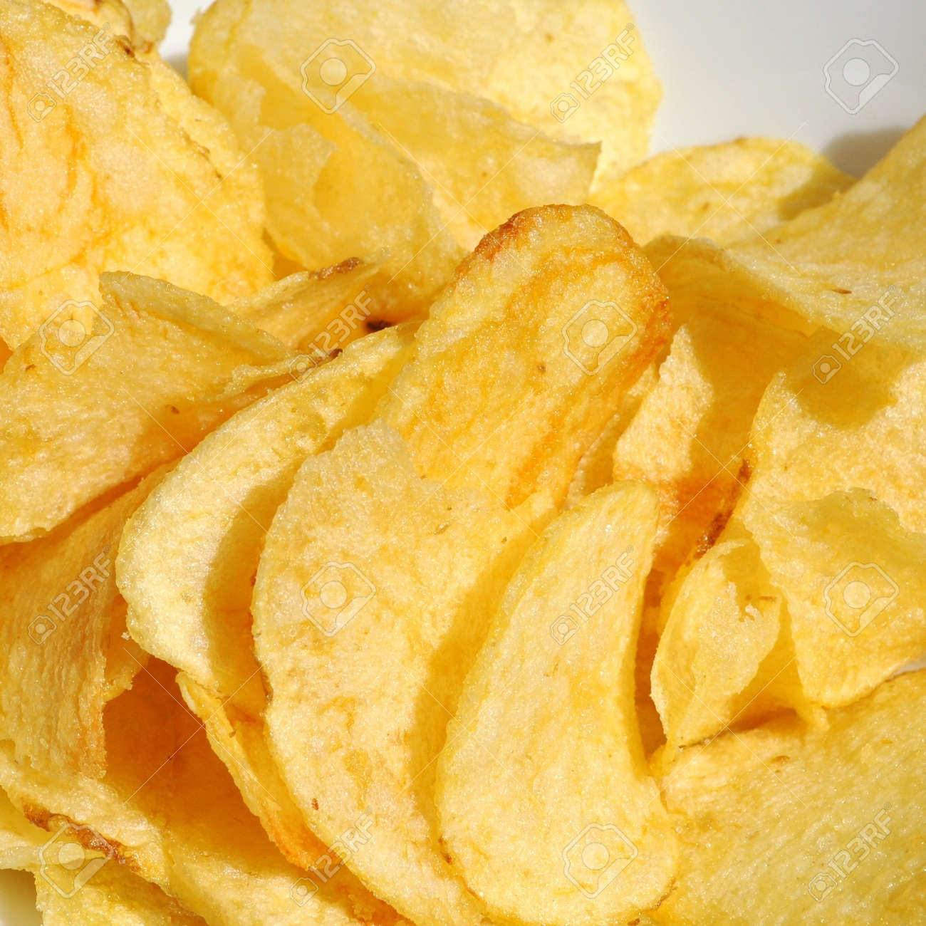 French fries chips or pommes frittes food Stock Photo - 7263449