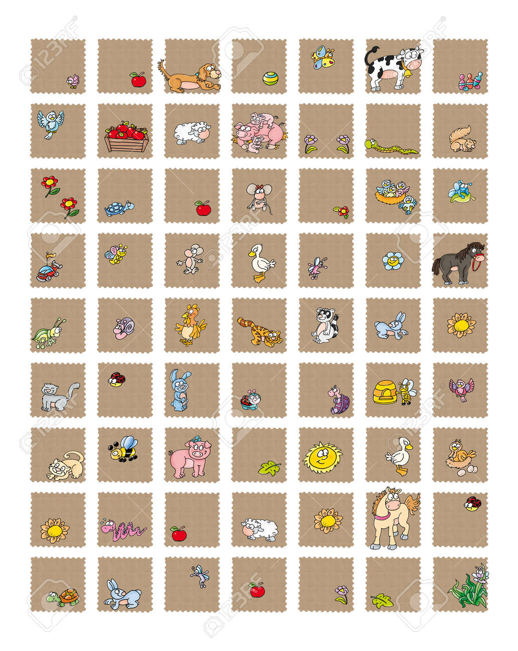 icons for sites selling art crafts and gifts, and stationery