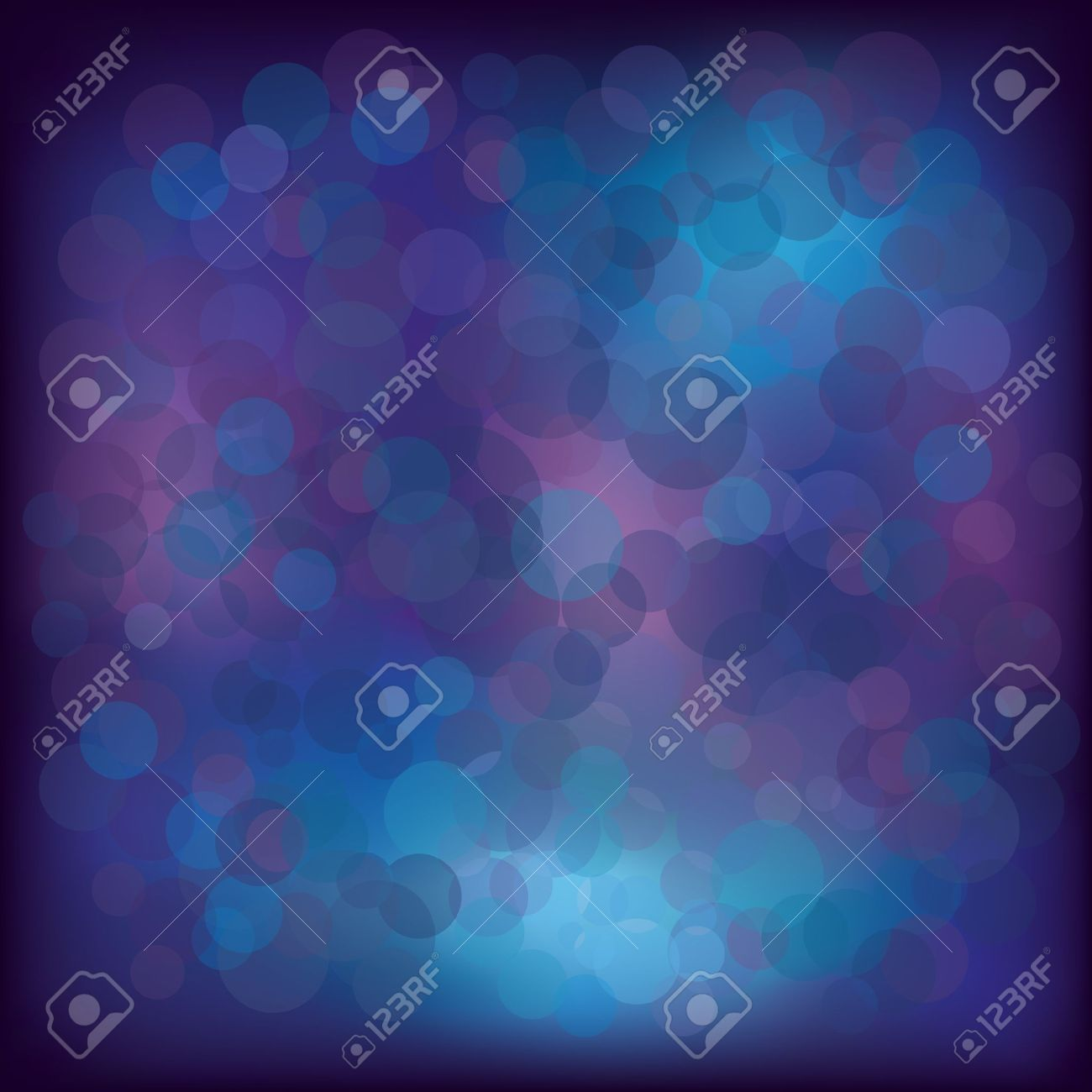 Colorful abstract background blue -violet -pink with decorative elements Vector illustration EPS 10 with transparency - 11987062