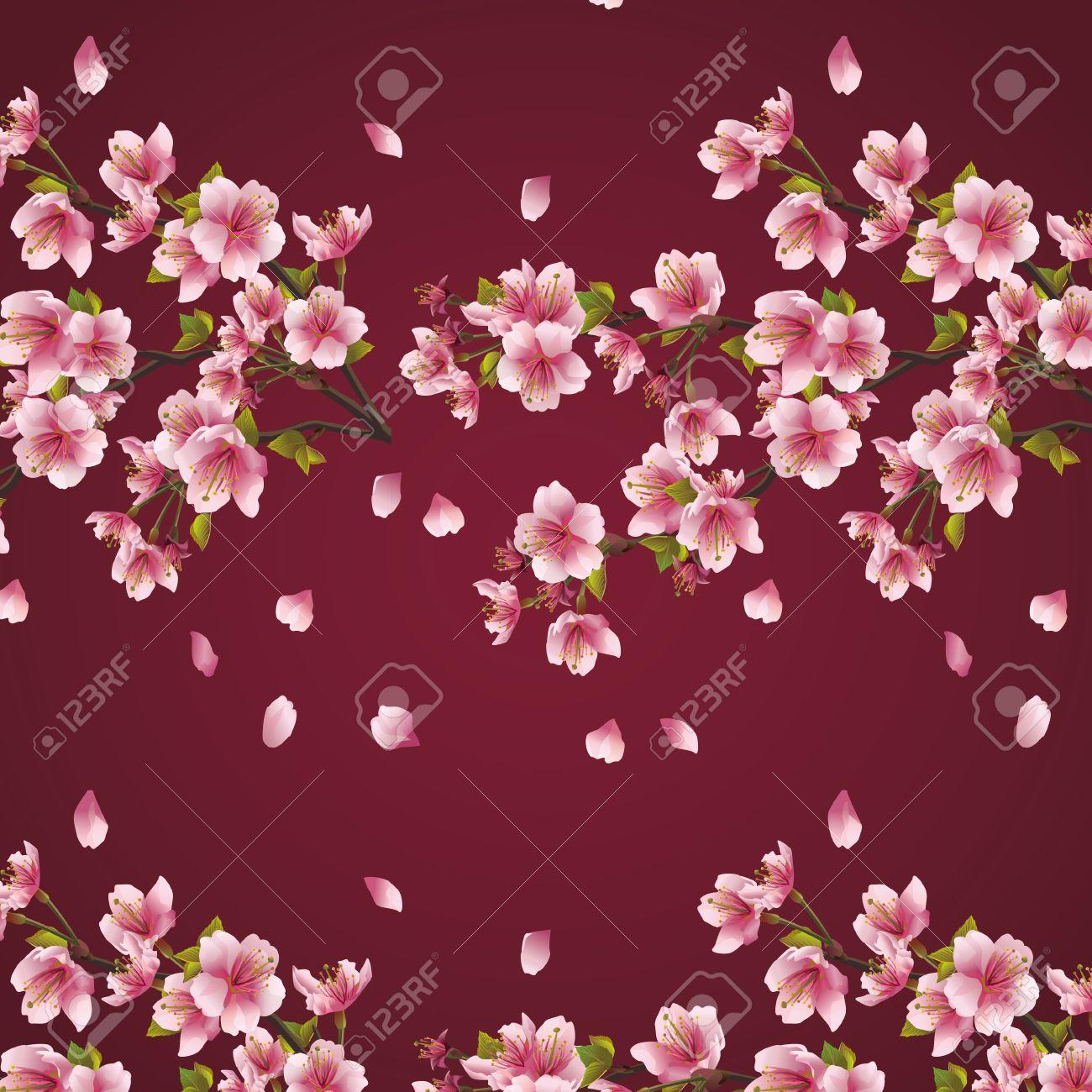 Maroon Blossom
