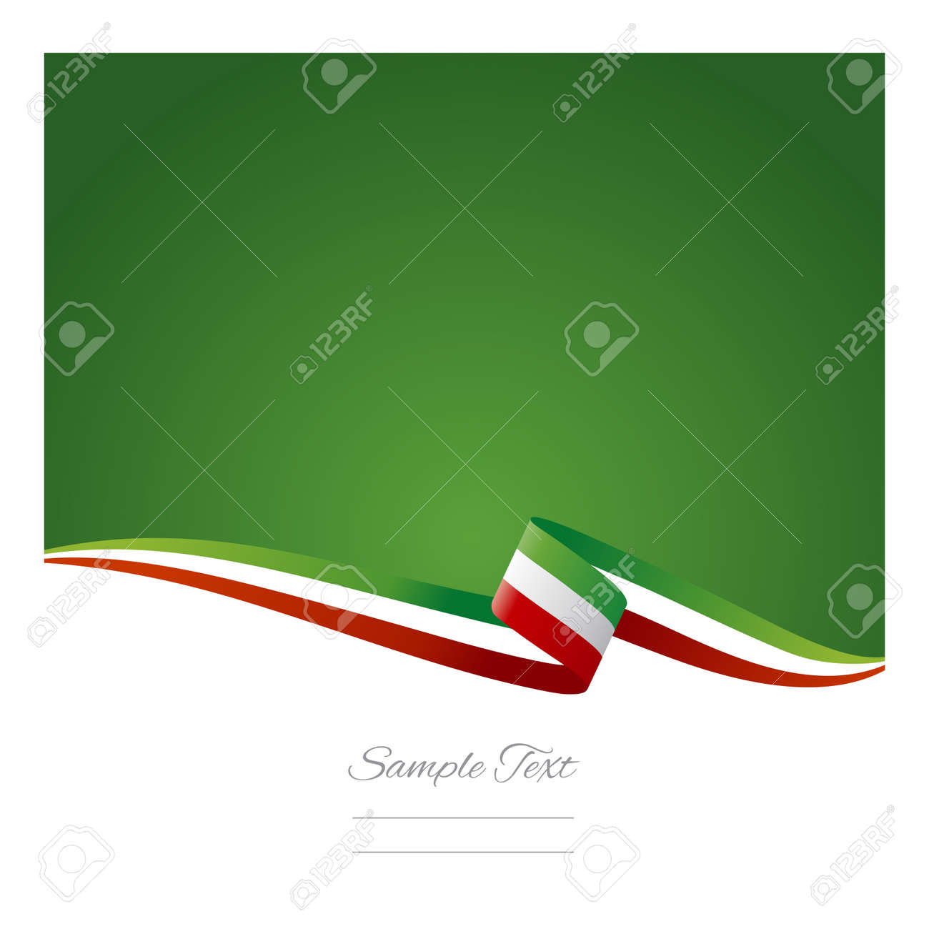abstract color background mexican flag royalty free cliparts