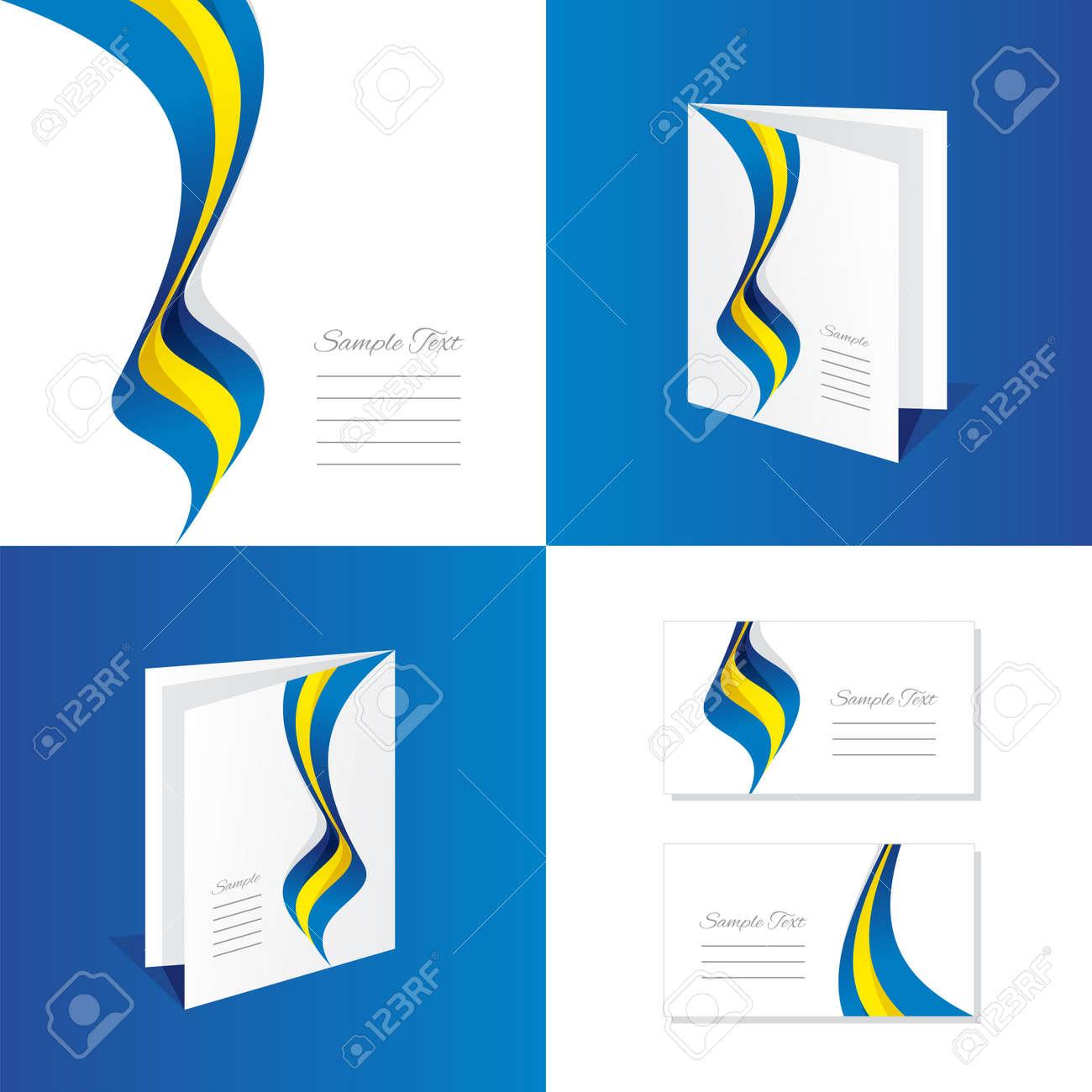 Rsum Sude Brochure Dpliant Dossier Couverture Carte De Visite