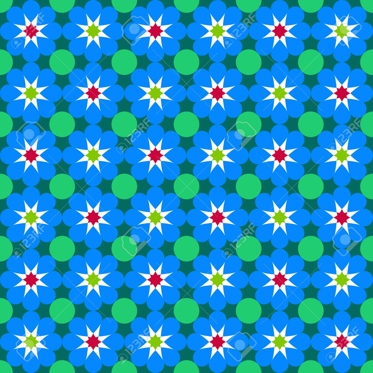 Moroccan Pattern. Mosaic Tiles. Royalty Free Cliparts, Vectors, And ...