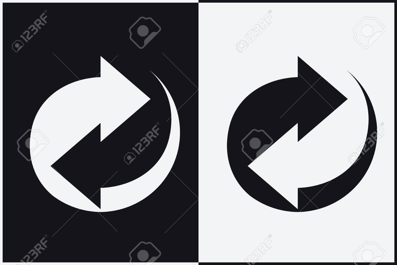 Recycle symbol sign of recycled material update icon royalty free recycle symbol sign of recycled material update icon reklamn fotografie 83399868 buycottarizona Choice Image