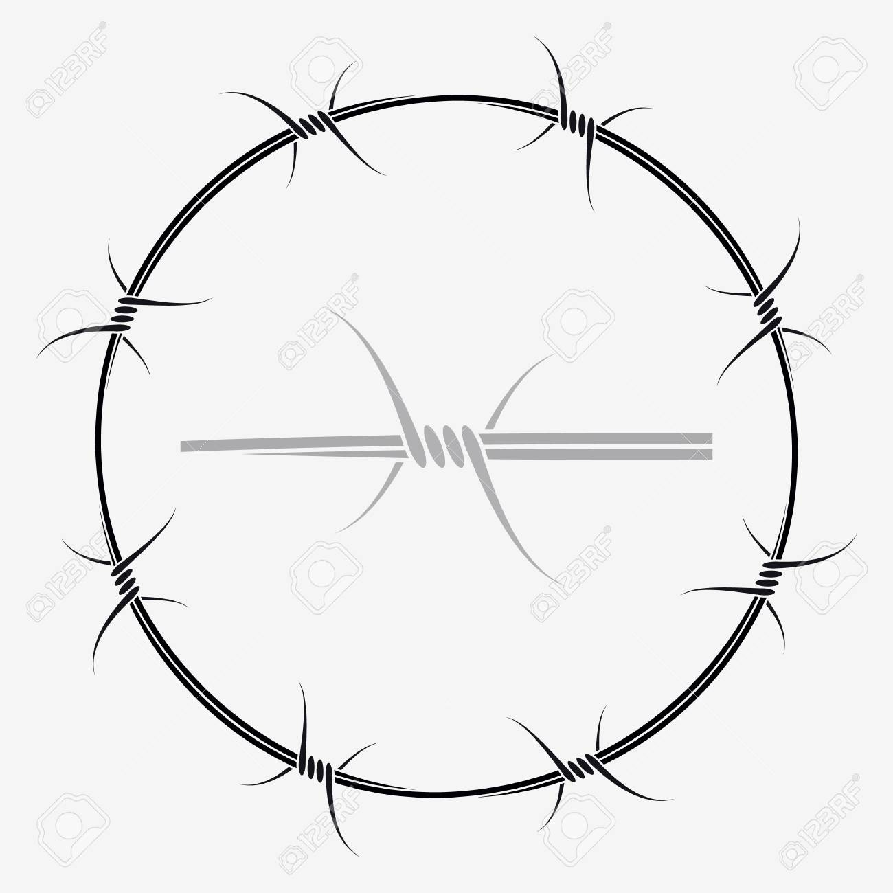 Attractive Barbed Wire Halo Sketch - Wiring Schematics and Diagrams ...