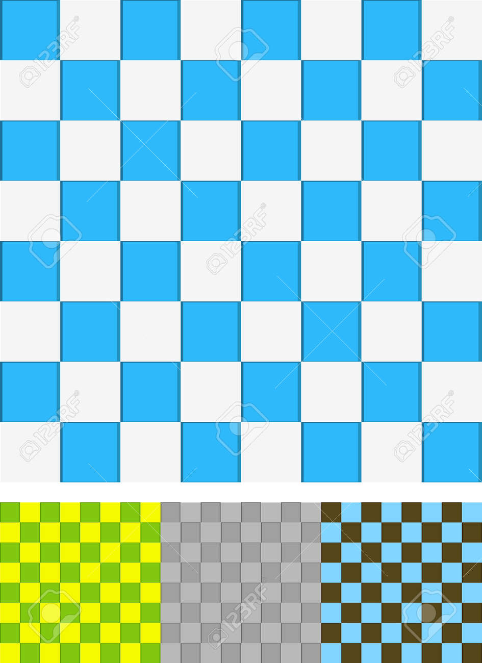 White And Blue Ceramic Tiles Seamless Texture For Bathroom Or Royalty Free Cliparts Vectors And Stock Illustration Image 108212818