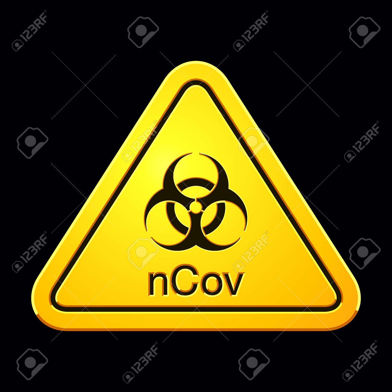 Coronavirus 2019-nCov. Novel Coronavirus Outbreak. Coronavirus Cell. Stop Coronavirus. Pandemic Risk Alert. Vector illustration - 141201334
