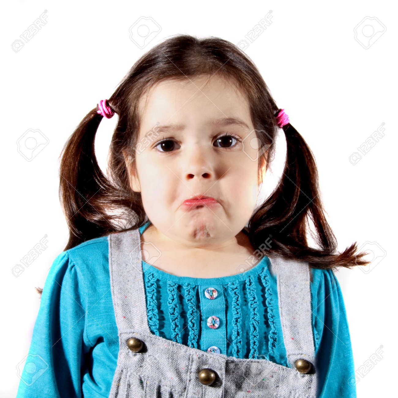 young girl upset and about to cry stock photo picture and royalty