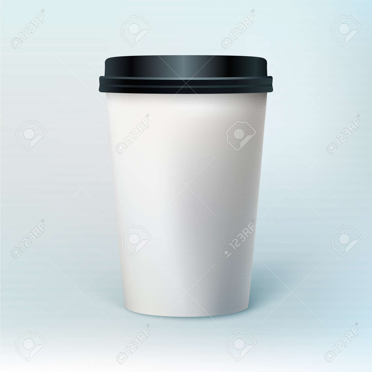 Blank coffee cup Stock Vector - 18343131