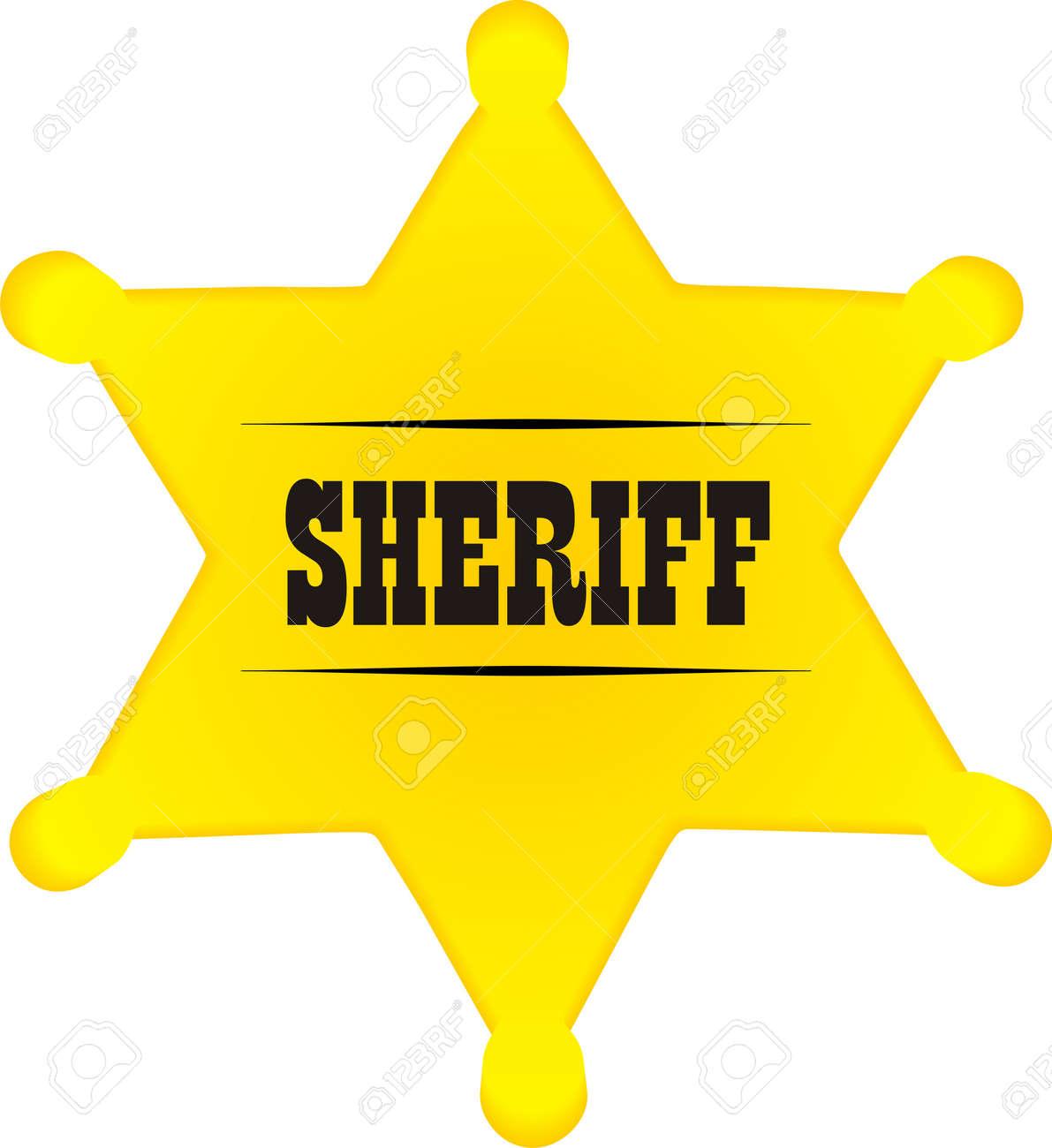 Sheriff badge Stock Vector - 5481712