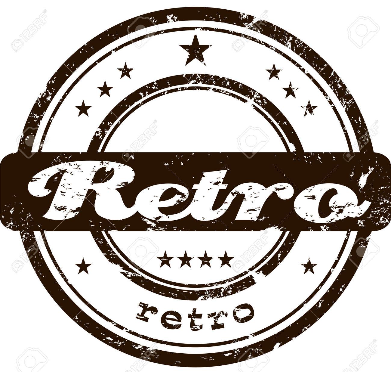 Retro stamp Stock Vector - 5469127