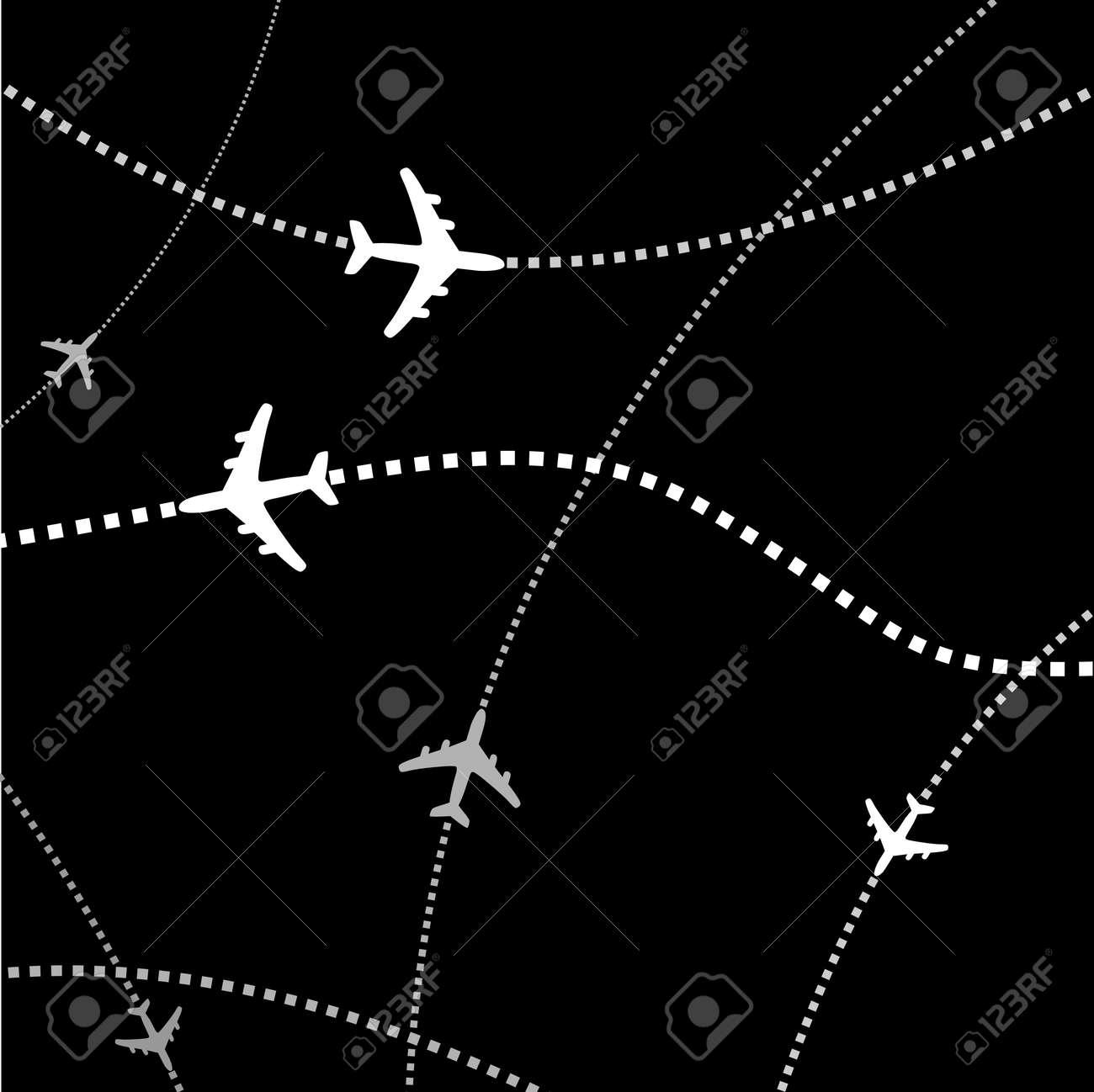 Airplane transport Stock Vector - 5524069