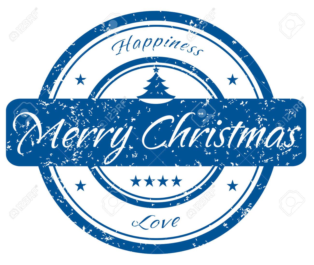 Christmas stamp Stock Vector - 5937363