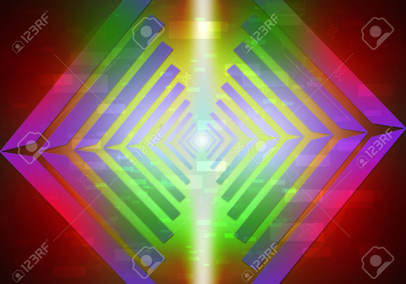 science light lines abstract background Stock Photo - 14535434