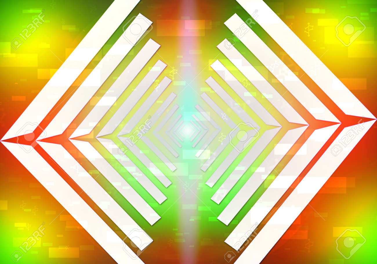 science light lines abstract background Stock Photo - 14535432