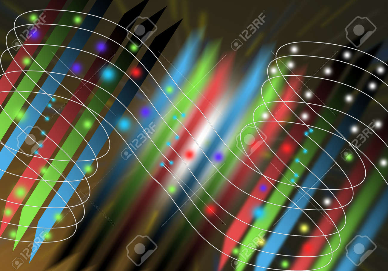 light lines abstract background  with space Stock Photo - 17086744